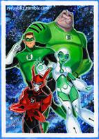 Green Lantern TAS 4 by syrusbLiz
