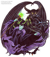 Dark Duo by syrusbLiz