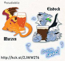Drachtoberfest Pins set 3 by syrusbLiz