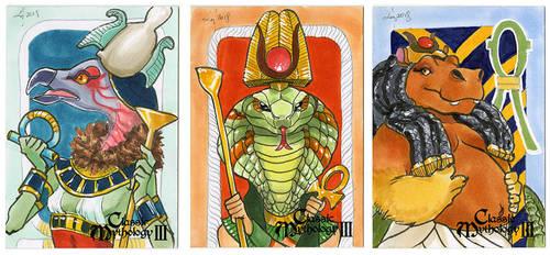 Perna Classic Mythology 3: Egypt Goddesses by syrusbLiz