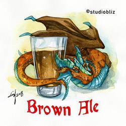 Drachtoberfest Brown Ale by syrusbLiz