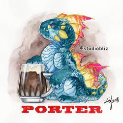 Drachtoberfest Porter by syrusbLiz
