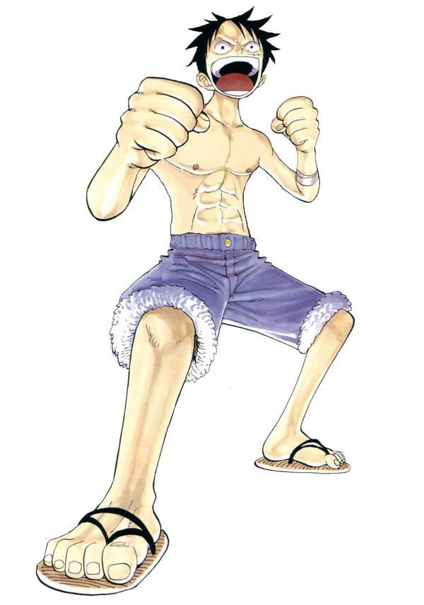 Luffy Ready 2 Battle by Mr-Astroboy