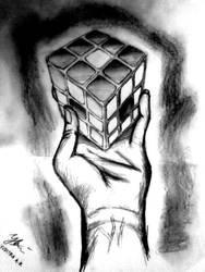 Rubic Cubic Sketch by Mr-Astroboy