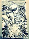 Wonderland Doodle by Mr-Astroboy
