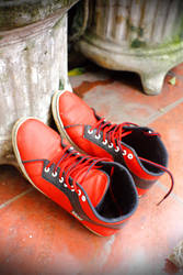 A Pair of Red Shoes by Mr-Astroboy