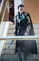 Loki Cosplay - The Avengers by Aicosu