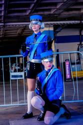 Persona 5 Cosplay - Justine and Caroline by Aicosu