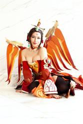 Lunar Mercy Cosplay - Zhu Que by Aicosu