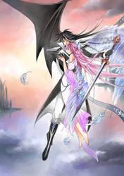 Devil and Angel love by Rina-Liu