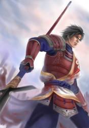 Sengoku Musou 3 Sanada Yukimur by Rina-Liu