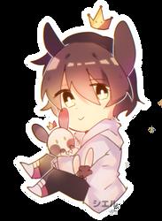 little bunny   ArtTrade by CKaitlyn