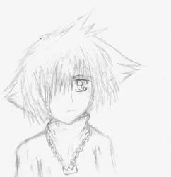 Winter Sora Lineart by DigiMoon93
