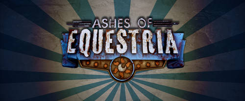 Ashes of Equestria Rendered Logo by Jeffk38uk