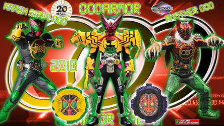 Kamen Rider Zi-O OooArmor by blakehunter
