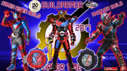 Kamen Rider Geiz BuildArmor by blakehunter