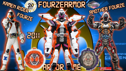 Kamen Rider Zi-O FourzeArmor by blakehunter