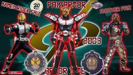 Kamen Rider Geiz FaizArmor by blakehunter
