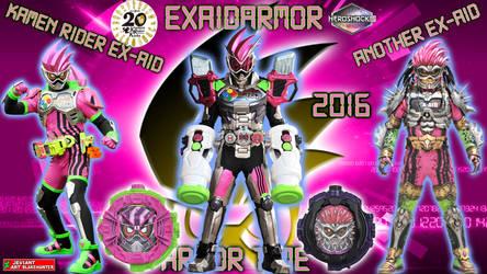 Kamen Rider Zi-O ExaidArmor by blakehunter
