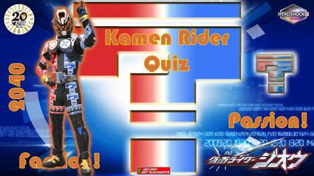 Kamen Rider Quiz by blakehunter