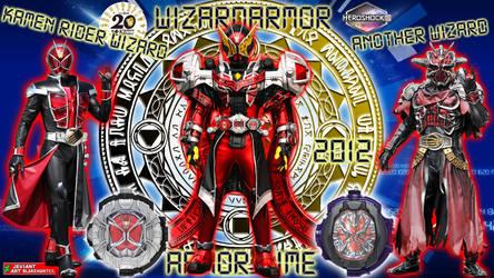 Kamen Rider Geiz WizardArmor by blakehunter