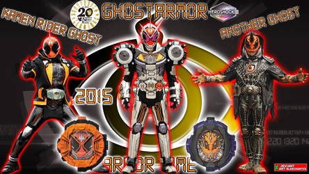 Kamen Rider Zi-O GhostArmor by blakehunter