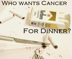 -Anti-Smoking- Dinner time...? by Death-Note-LeLiet