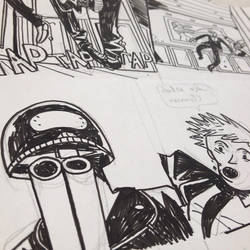 Panels from Street Tiger issue 2 by ErtitoMontana