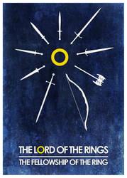 Fellowship Blue Poster by Eligius57