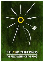 Fellowship Green Poster by Eligius57