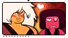 SU: Jasper x Eyeball Ruby by Reykholtz
