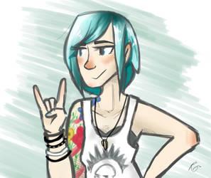 Chloe Price is too metal by roisincrowe11