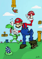 Super Mario by Niddles