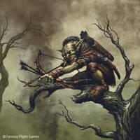 Goblin sniper by Sumerky