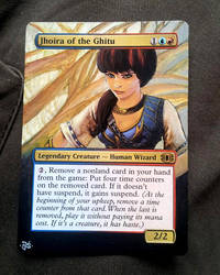 Jhoira of the Ghitu altered by Hasslord by Hasslord