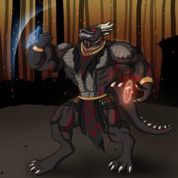 Draconic Defender by Korozar