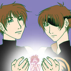 two sides of syaoran by the-pink-angel