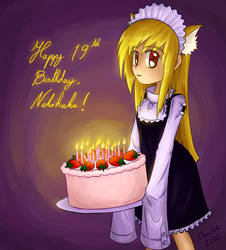 Happy Birthday Nekoha by ChronoTata