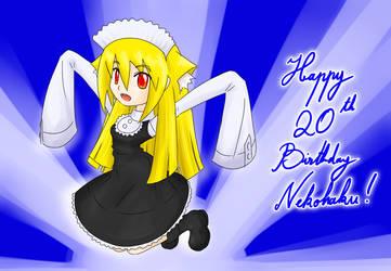 Happy Birthday Nekohaggar by ChronoTata