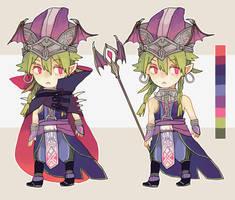 Commission: Sakura-Pumpkin by Sychandelic