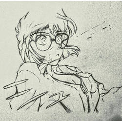 Shiho Miyano/Ai Haibara (Detective Conan) by Momo11997jb