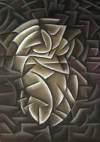 Cubism -Woman by vijujako