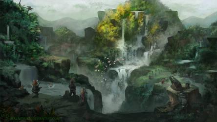 Gaia's Navel by lamwin
