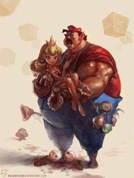 Mario by lamwin