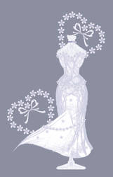Lilac Blossom Gown by rockgem