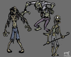 Zombie Businessmen by Liemn