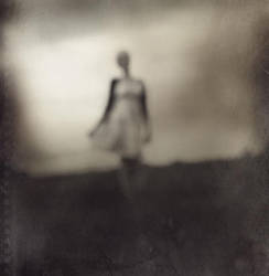 A distant figure.. by larafairie