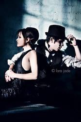 Yasmin And Joey by larafairie