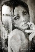 Self Portrait - Droplets by larafairie