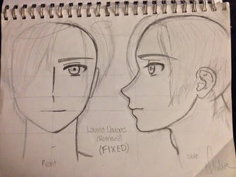 FIXED Lovino Vargas (Romano) Sketch-Out by Myindiansummer